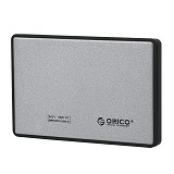 "ORICO 2.5"" HDD/SSD Mobile Enclosure USB 3.0 [2588US3-SILVER] - SILVER - Hdd Docking"